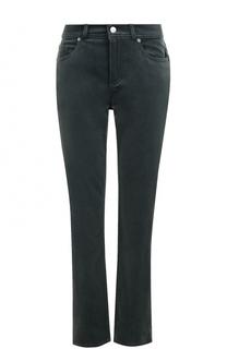Укороченные бархатные джинсы прямого кроя Loro Piana