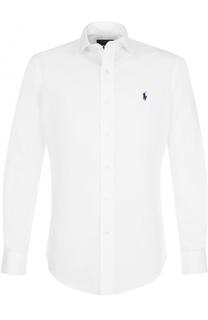 Хлопковая сорочка с воротником кент Polo Ralph Lauren