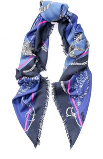 Шелковый платок с принтом Franco Ferrari