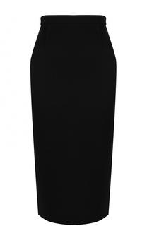 Однотонная юбка-карандаш Roland Mouret