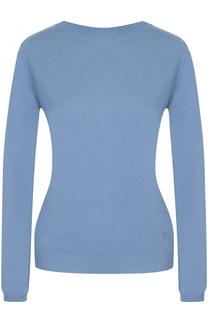 Кашемировый пуловер с V-образным вырезом на спинке Nina Ricci