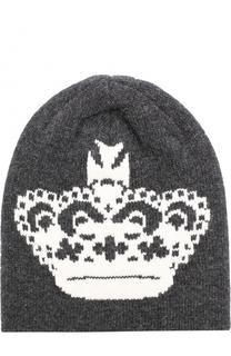 Шерстяная шапка бини Dolce & Gabbana