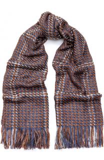 Вязаный шарф с бахромой Deha