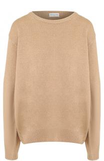 Шерстяной пуловер свободного кроя Dries Van Noten