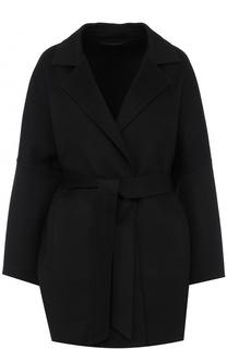 Кашемировое пальто с поясом Kiton