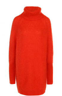 Удлиненный шерстяной свитер BOSS