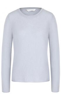 Шерстяной пуловер прямого кроя BOSS
