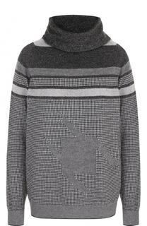 Шерстяной свитер прямого кроя D.Exterior