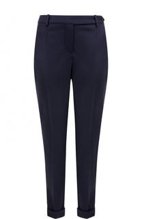 Облегающие кашемировые брюки с отворотами Loro Piana