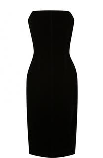Облегающее платье-бюстье без рукавов Tom Ford