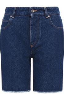 Джинсовые шорты с декорированными карманами Dolce & Gabbana