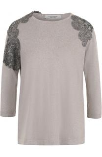 Вязаный пуловер с укороченным рукавом D.Exterior