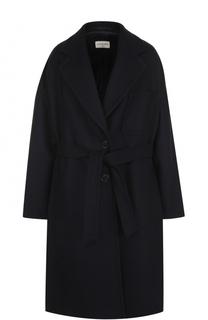 Шерстяное пальто с поясом Dries Van Noten
