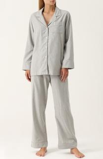 Пижама из смеси хлопка и шерсти Zimmerli