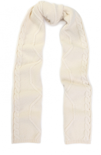 Шерстяной шарф фактурной вязки Colombo