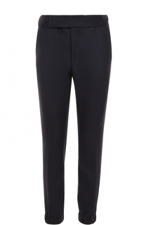 Кашемировые брюки с манжетами на резинке Zegna Couture