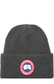 Шерстяная шапка с отворотом Canada Goose