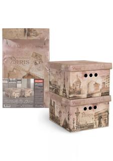 Короб картонный складной в комплекте (2 шт.) TRAVELLING PARIS Valiant