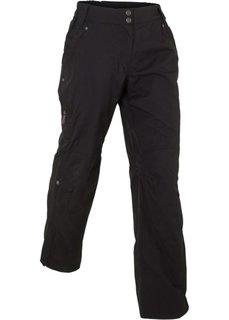 Длинные брюки для активного отдыха (черный) Bonprix