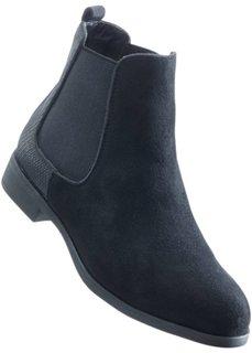 Ботинки-челси (черный) Bonprix