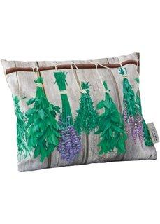 Подушка с травяным наполнителем (зеленый/светло-коричневый) Bonprix