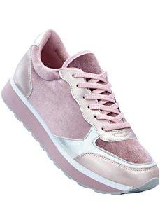 Кроссовки (светло-серый/розовый) Bonprix