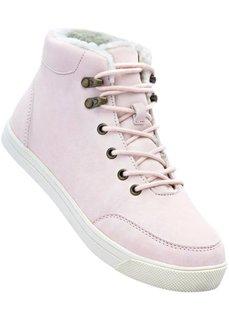 Высокие кеды (розовый) Bonprix