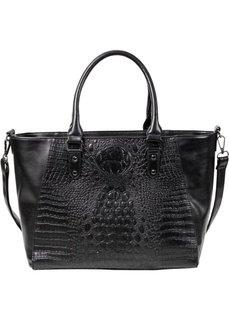 Шикарная сумка в деловом стиле (черный) Bonprix