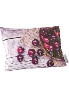 Подушка с наполнителем из вишневых косточек (вишнево-красный/светло-коричневый) Bonprix