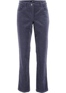 Вельветовые брюки-стретч (черничный) Bonprix