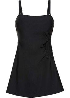 Формирующее купальное платье (черный) Bonprix