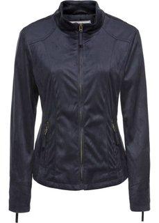 Куртка из искусственной замши (цвет голубики) Bonprix