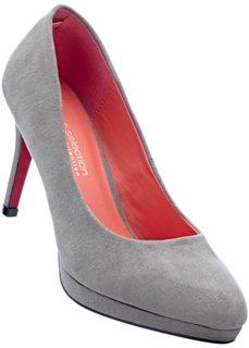 Туфли, широкая стопа (серый) Bonprix