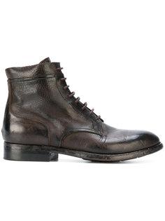 ботинки с эффектом потертости Silvano Sassetti