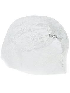 кружевная шляпа со сборками Ann Demeulemeester