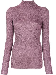 свитер-водолазка с эффектом металлик  Missoni