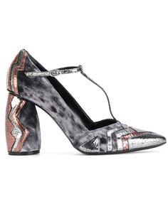 панельные туфли-лодочки с Т-образным ремешком Strategia