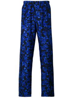 """пижамные брюки с принтом в стиле """"барокко"""" Versace"""