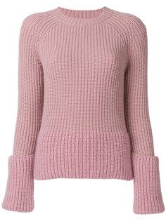 свитер с ярусными рукавами  Moncler