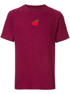 embroidered apple T-shirt  Jupe By Jackie