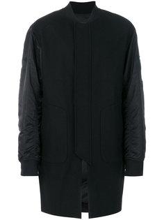 стеганое пальто мешковатого кроя Juun.J