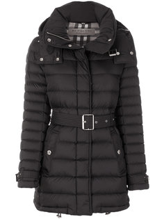 belted padded coat  Burberry