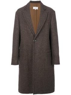 пальто с меланжевым эффектом Maison Margiela