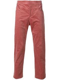бархатистые брюки Haider Ackermann