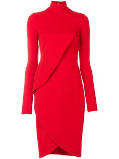 многослойное приталенное платье Givenchy
