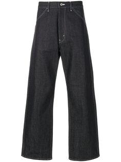 широкие джинсы с отворотами Junya Watanabe Comme Des Garçons Man