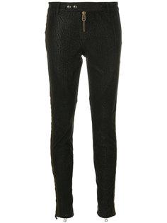 фактурные брюки со шнуровкой Faith Connexion