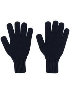 перчатки в рубчик Drumohr