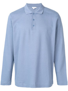 фактурная футболка-поло Sunspel