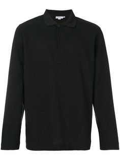 футболка-поло с длинными рукавами Sunspel